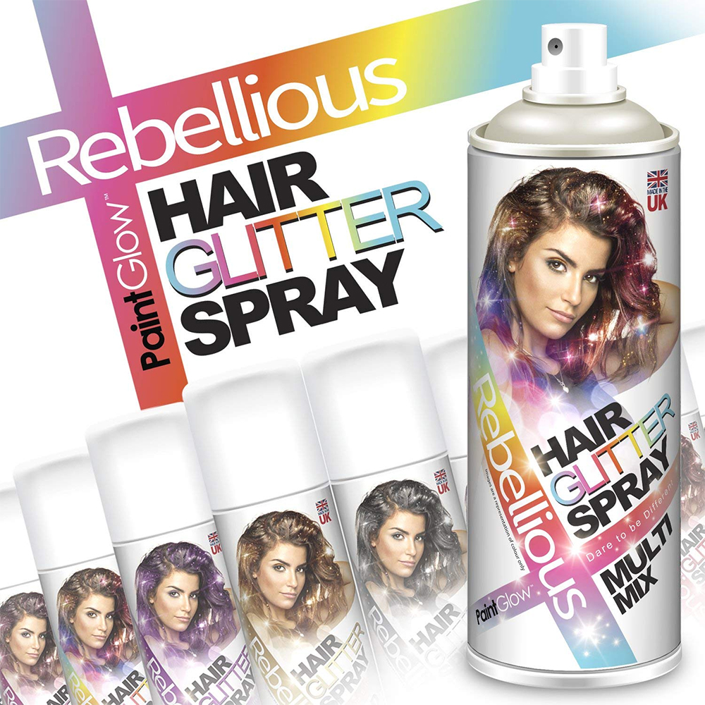 Glitter Hair Colour Spray