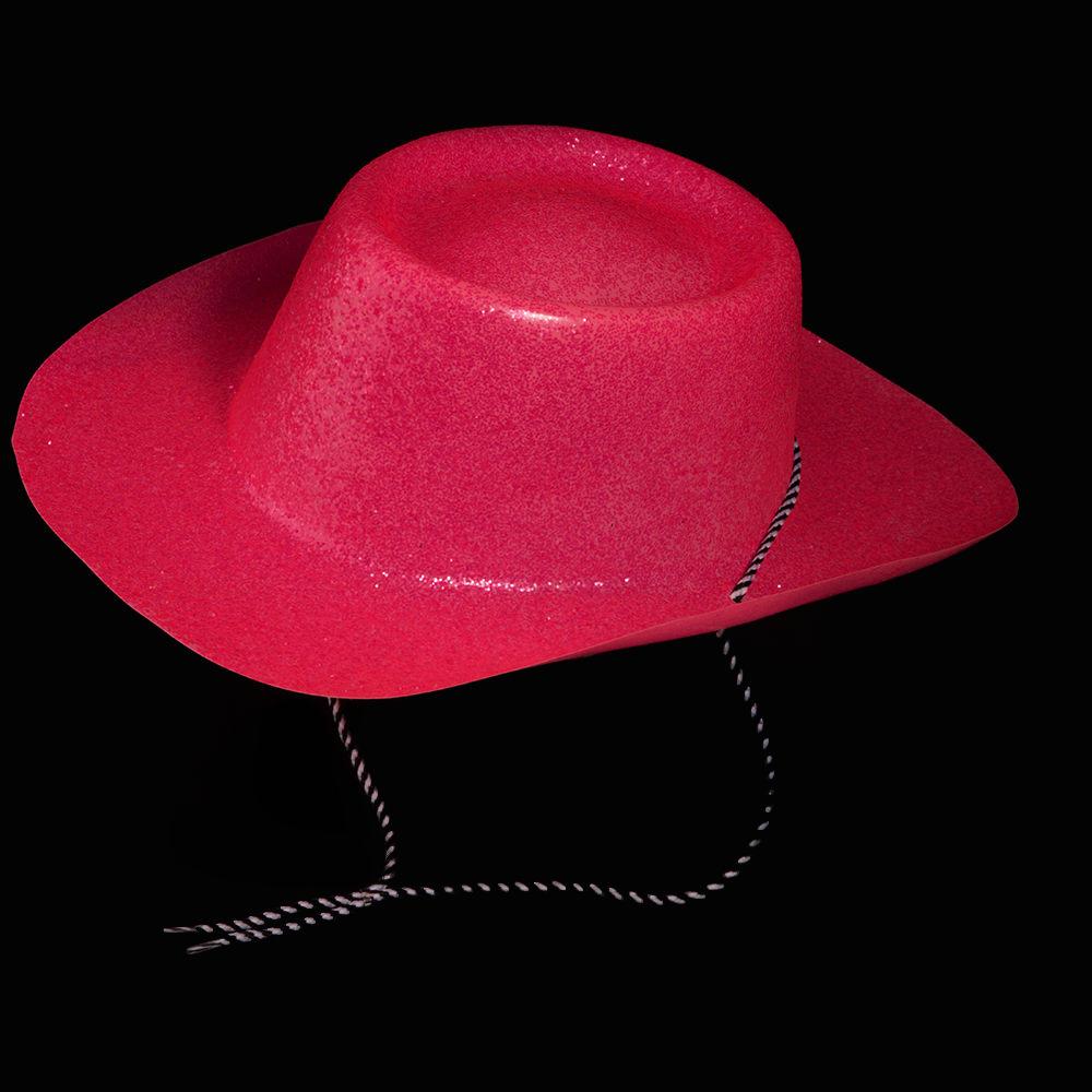 UV Glitter Cowboy Hat 6e124463431